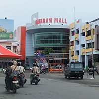 Mataram - the capital city of Lombok